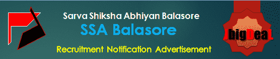 SSA Balasore Recruitment 2018 Application Form