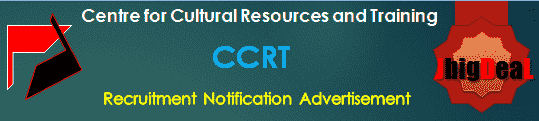 CCRT Recruitment 2018 Online Application Form
