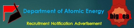 Department of Atomic Energy Recruitment 2018 Online Application Form