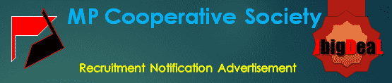 MP Cooperative Society Recruitment 2018 Online Application Form
