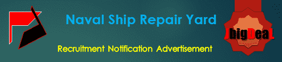 Naval Ship Repair Yard Apprentices Recruitment 2019 Online Application
