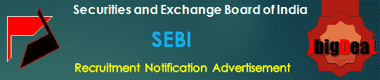 SEBI Recruitment 2018 Online Application Form