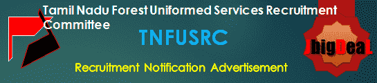 TNFUSRC Recruitment 2018 Online Application Form