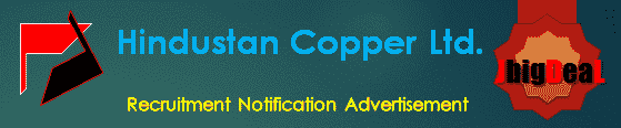 Hindustan Copper Ltd. Recruitment 2018 Application Form