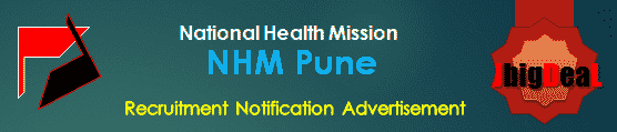 NHM Pune Recruitment 2018 Application Form