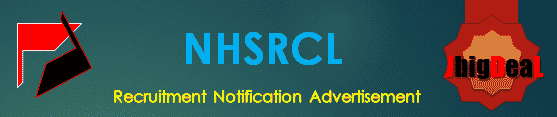 NHSRCL Recruitment 2018 Application Form