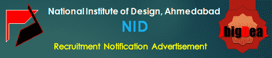 NID Recruitment 2018 Online Application Form