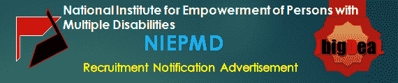 NIEPMD Recruitment 2018 Application Form
