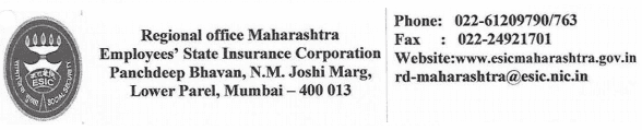 ESIC Maharashtra Recruitment 2018 Online Application Form