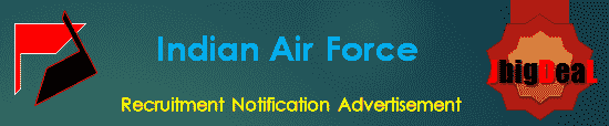 Indian Air Force Recruitment 2018 Online Application Form
