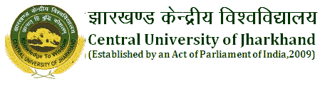 Central University of Jharkhand Recruitment 2019 Application Form