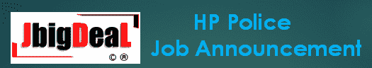 HP Police Constable Recruitment 2019 Application Form