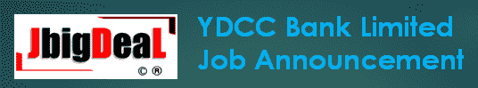 YDCC Bank Limited Recruitment 2019 Online Application Form