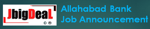 Allahabad Bank Recruitment 2019 Online Application Form