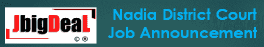 Nadia District Court Recruitment 2019 Online Application Form