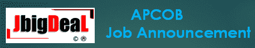APCOB Staff Assistant Recruitment 2019 Online Application
