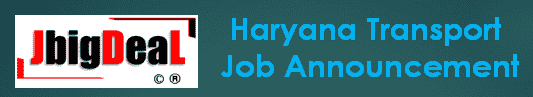 Haryana Transport Apprentice Recruitment 2020 Online Application Form