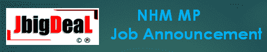 NHM Madhya Pradesh Recruitment 2021 Online Application Form