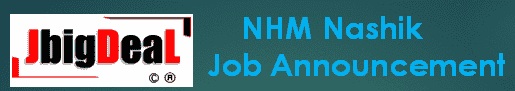 NHM Nashik Recruitment 2021 Application Form