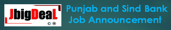 PSB India Recruitment 2021 Online Application Form