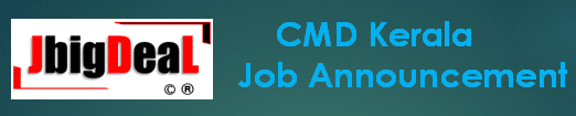 CMD Kerala District and Block Level Recruitment 2019 Application Form