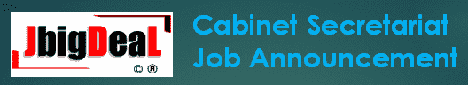 Cabinet Secretariat Deputy Field Officer Recruitment 2019 Application Form
