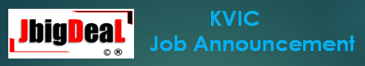 KVIC Director & Dy Director Recruitment 2020 Application Form