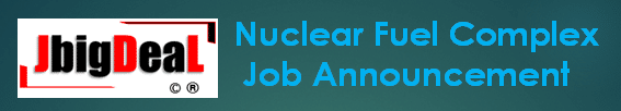 Nuclear Fuel Complex Stipendiary Trainees, UDC, Work Assistants 'A'/ Hospital Work Assistants 'A' Recruitment 2019 Online Application Form