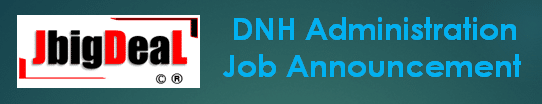 DNH Administration Assistant Teacher Recruitment 2020 Application Form
