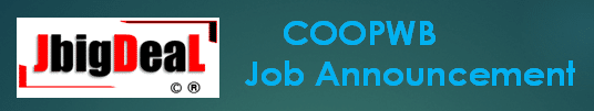 COOPWB Clerk, Bank Assistant & Various Recruitment 2020 Online Application Form