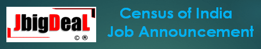 Census of India Statistical Investigator, Assistant Director, & Other Recruitment 2020 Application Form