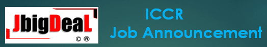 ICCR Assistant, Steno & Other Recruitment 2020 Online Application Form