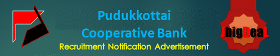 Pudukkottai Cooperative Bank Assistant Recruitment 2020 Online Application Form