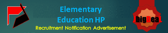 Elementary Education HP TGT Recruitment 2020 Application Form
