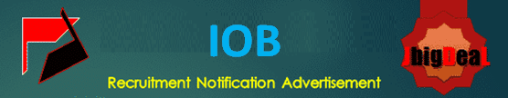 IOB Security Guards Recruitment 2020 Online Application Form