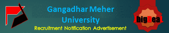 Gangadhar Meher University Asst. Professor & Other Recruitment 2020 Online Application Form