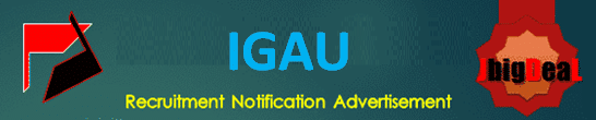 IGAU Lab Technician, Assistant & Field Extension Officer Recruitment 2020 Online Application Form