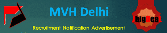 MVH Delhi Senior Residents Recruitment 2020 Application Form