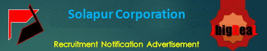 Solapur Corporation Mo, DEO & Other Recruitment 2020 Application Form
