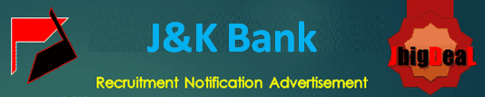 JK Bank PO & Banking Associates Recruitment 2020 Online Application Form