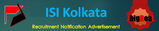 ISI Kolkata Project Linked Persons Recruitment 2020 Application Form