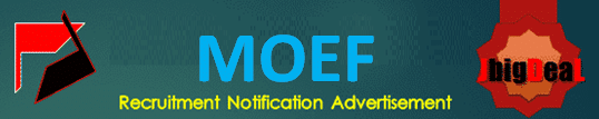 MOEF Scientists Recruitment 2020 Application Form