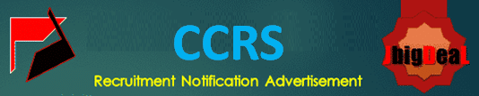 CCRS Research Officer, Siddha Pharmacist & Therapist Recruitment 2020 Application Form