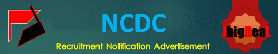 NCDC Recruitment 2021 Online Application Form