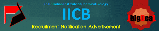 IICB JRF Recruitment 2021