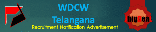 WDCW Telangana Recruitment 2021 Application Form
